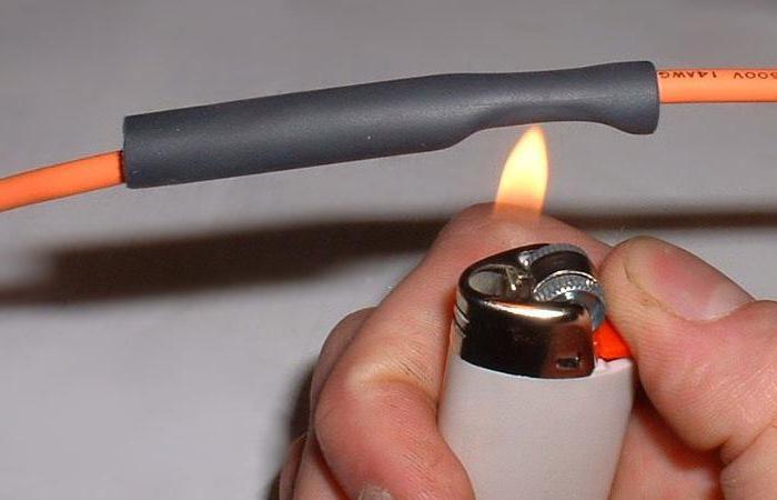 Термоусадочная трубка как пользоваться