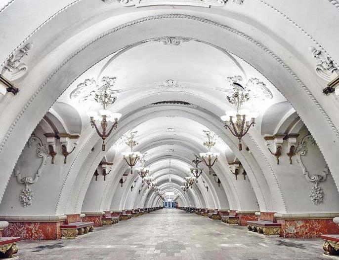 линии метро москвы