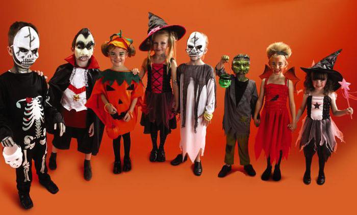история Хэллоуина для детей