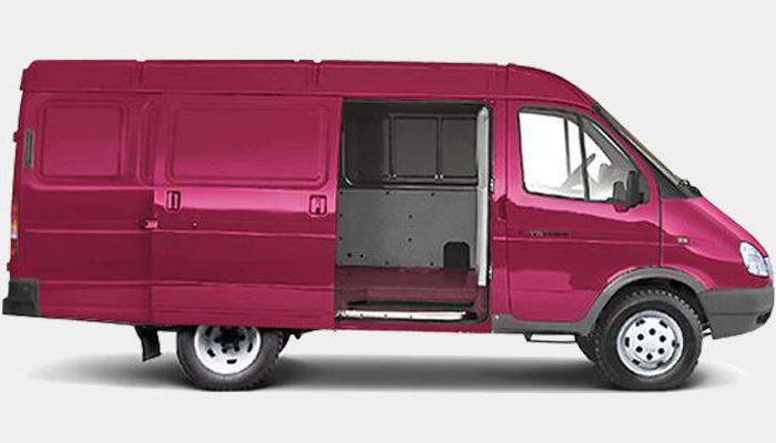 газ 2705 грузовой фургон цельнометаллический 7 мест