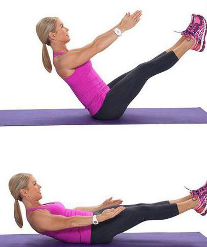 упражнения флекс для живота