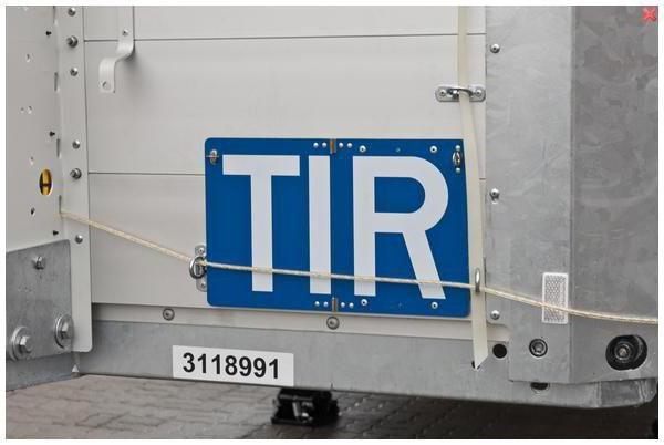 что обозначает tir на грузовиках