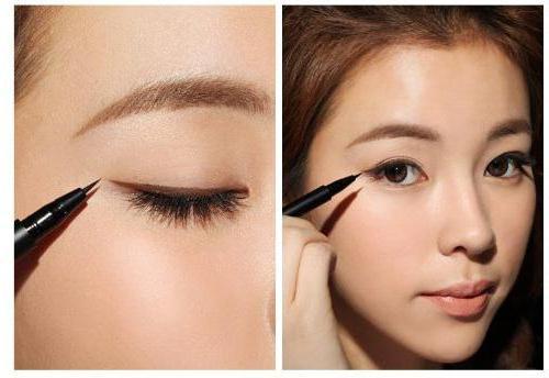 коричневый карандаш для глаз