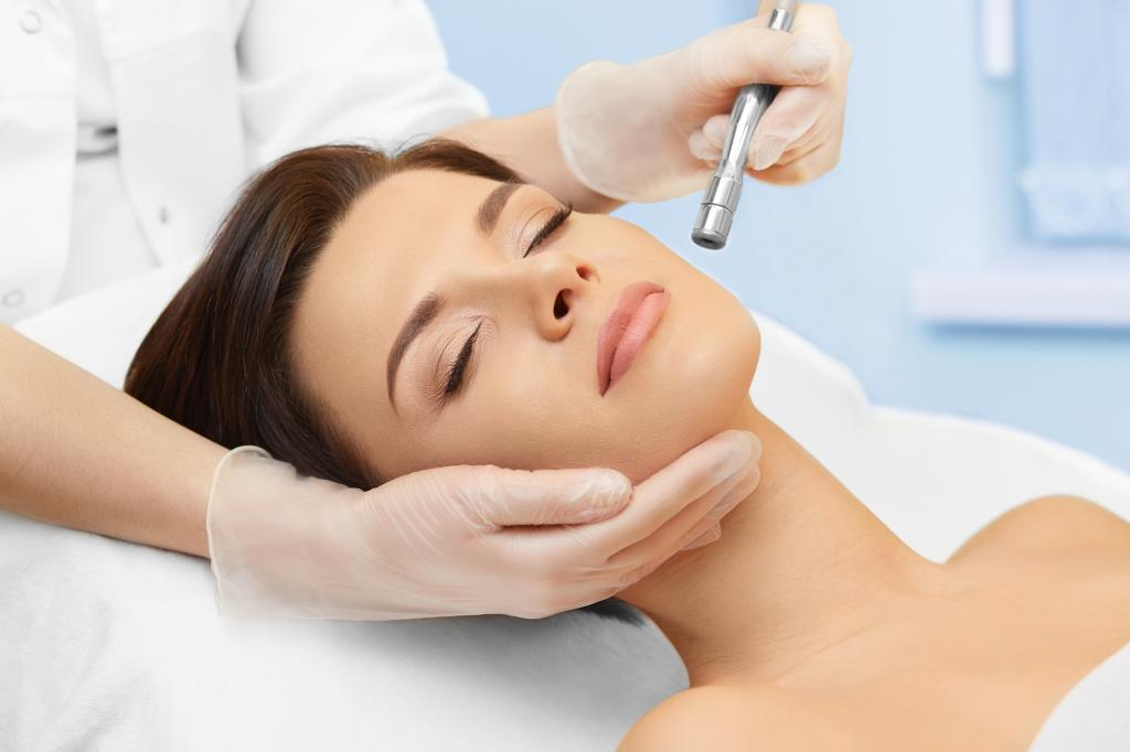 Microcurrents for the face