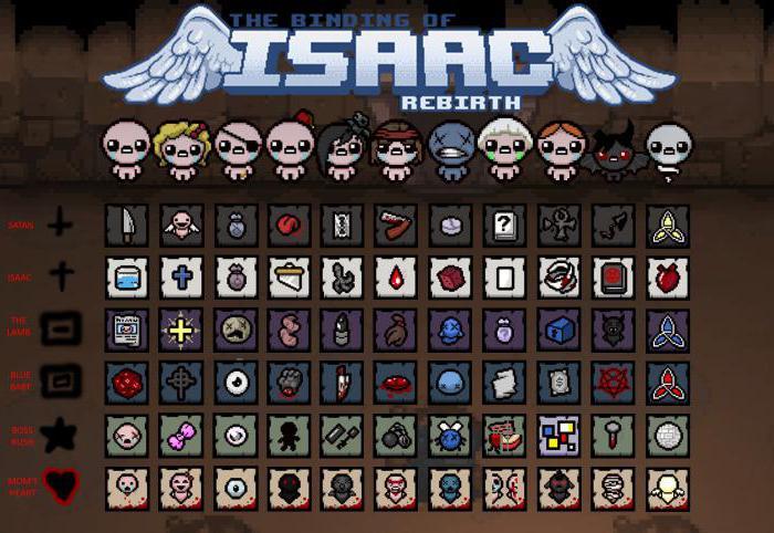 Скачать моды для the binding of isaac afterbirth на персонажей