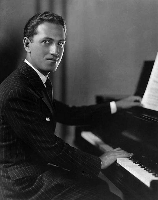 a biography of george gershwin the composer of the most popular melodies that are widely known
