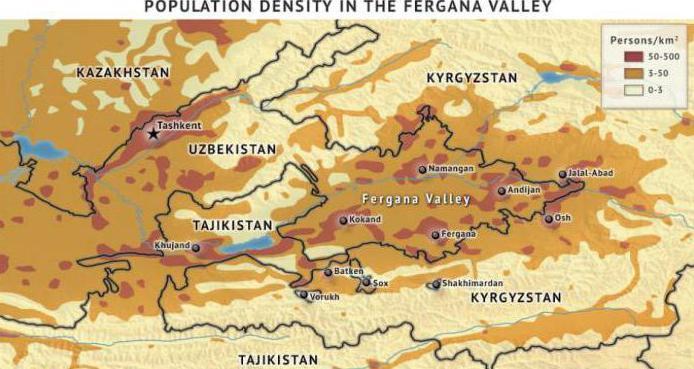 ферганская область узбекистан