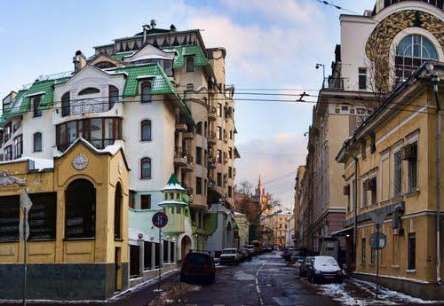 элитные районы москвы список