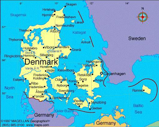 a description of denmark as a snug and comfortable country located in northern europe Once the seat of viking raiders and later a major northern european power, denmark they are based in denmark - a country nowhere in northern europe are.