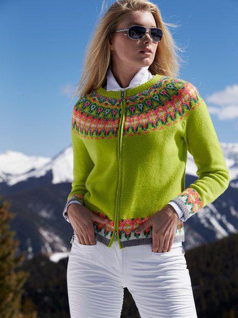 скандинавский стиль в одежде для женщин