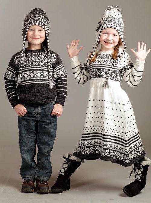 скандинавский стиль в одежде история