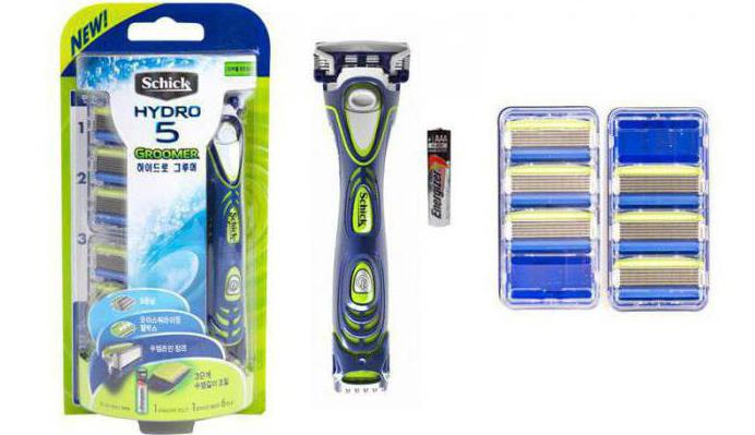 Schick Hydro 5 Power Select