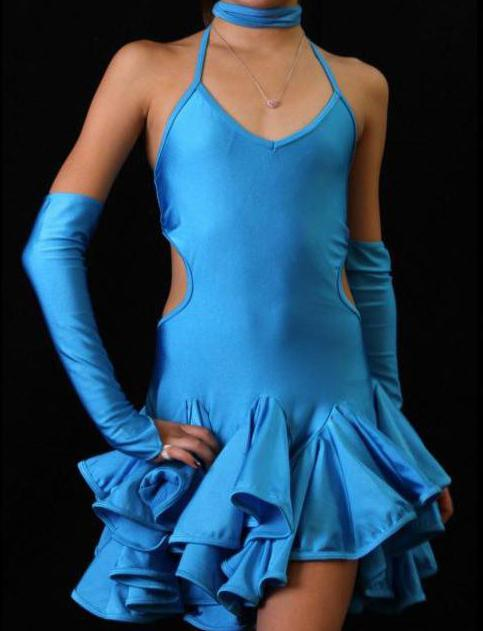 Бальные танцы платья для девочек