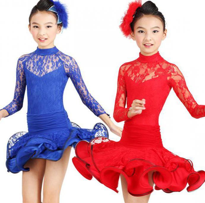 Танцевальные платья для бальных танцев