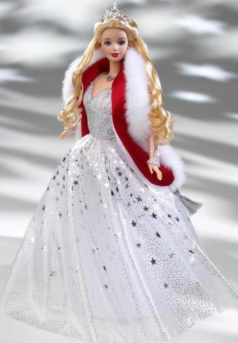 Барби праздничная коллекционная кукла