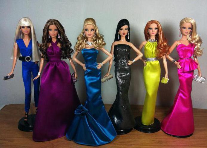 Кукла Барби коллекционные красная дорожка