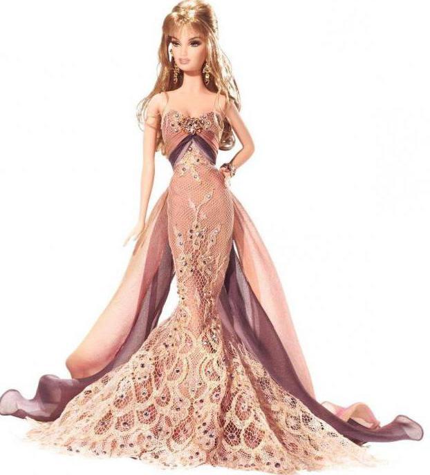 Barbie коллекционная кукла праздничная Барби