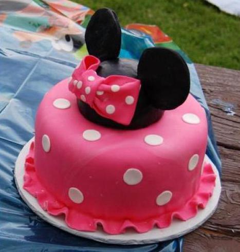 Торт Минни Маус фото