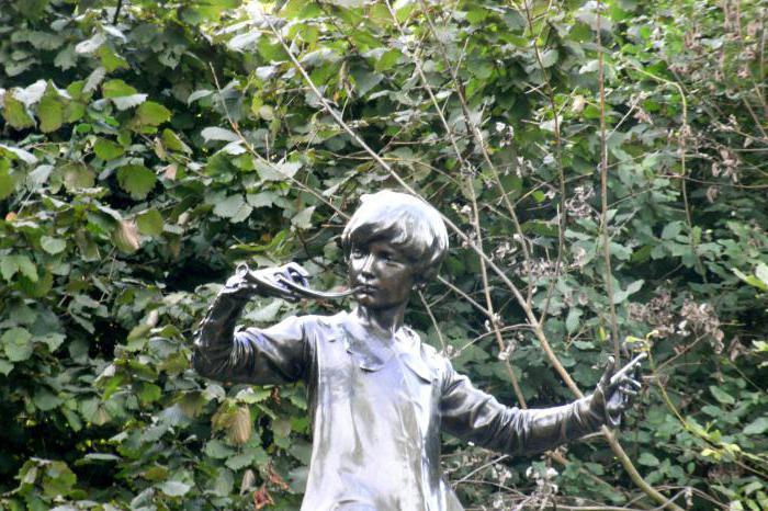 Памятник Питеру Пэну
