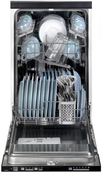 Размеры встраиваемых посудомоечных машин