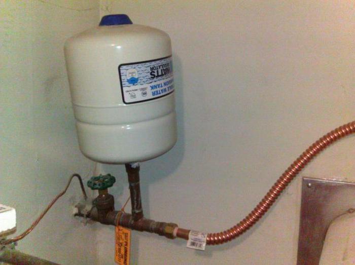 Как проверить расширительный бак отопления