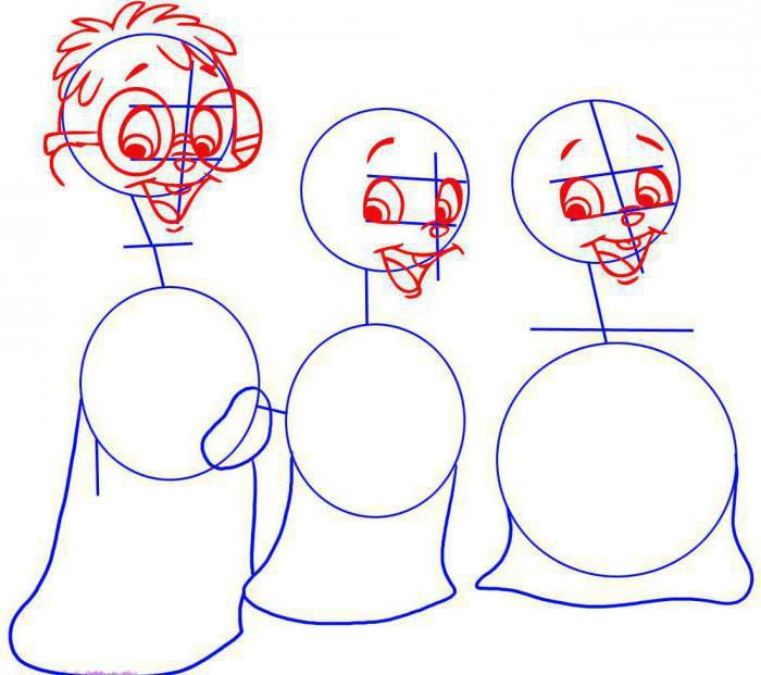 как нарисовать бурундука поэтапно