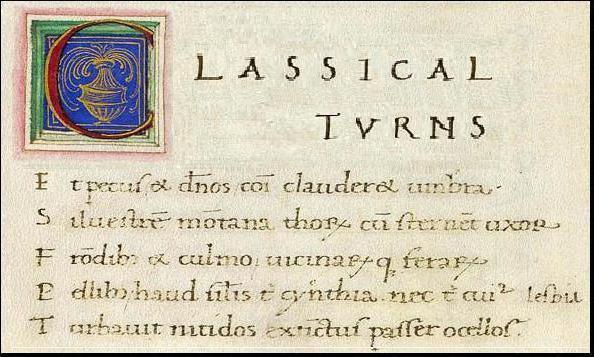 история возникновения и развития латинского языка
