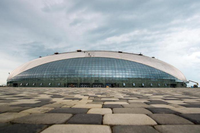 Большой ледовый дворец (Сочи) - уникальное сооружение