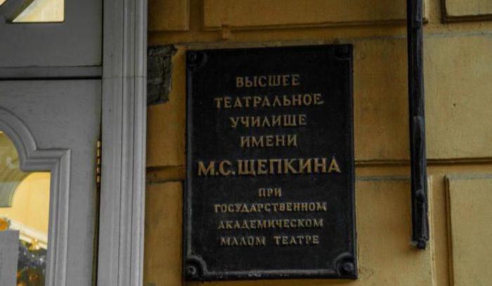 Театральные университеты в москве