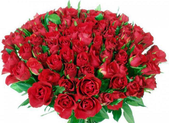 Значение-количества роз