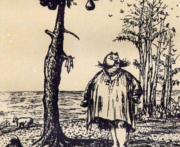 Картинки из сказок щедрина