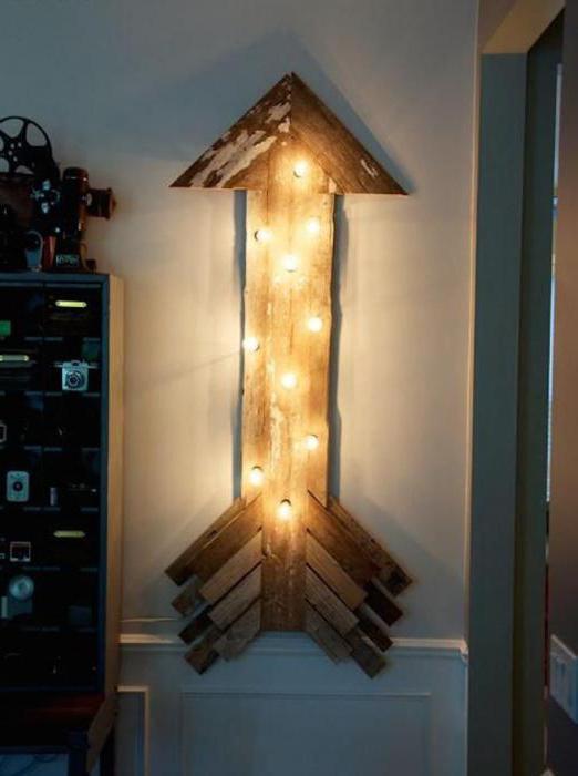 светильники из дерева фото
