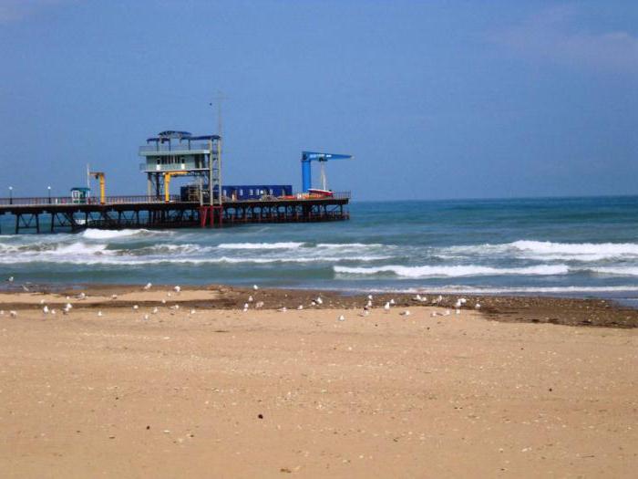новомихайловский песчаный пляж