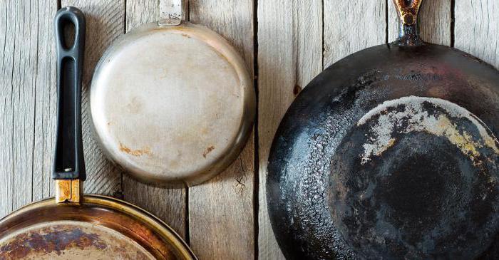 Почему алюминиевая сковорода пригорает