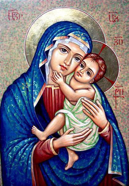 иконы божией матери фото с названиями