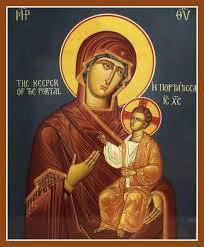 «Иверская» икона Богоматери