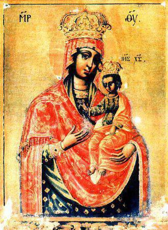 Ильинско -Черниговская икона Божьей Матери