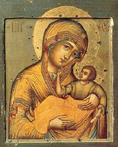 «Муромская» икона Божьей Матери
