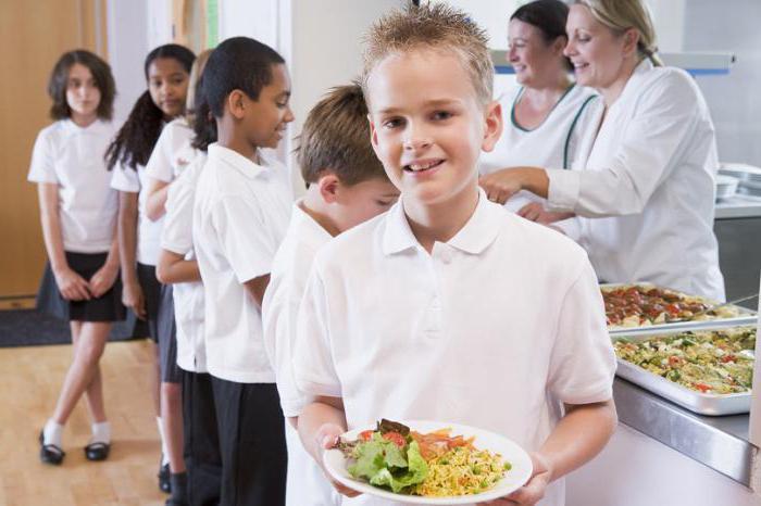 опалата питания в школе