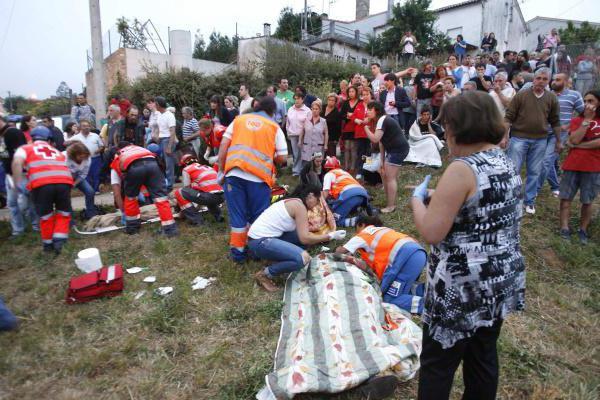 крупная ж/д катастрофа в Испании