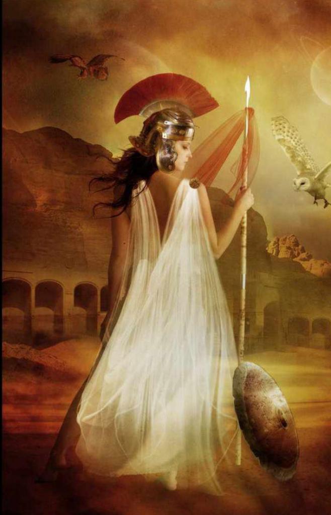 Богиня паллада в картинках
