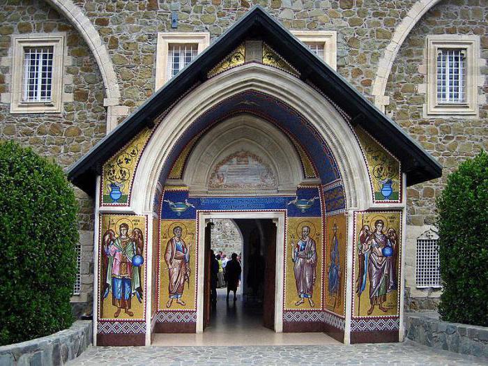 Монастырь Киккос, Кипр: где находится
