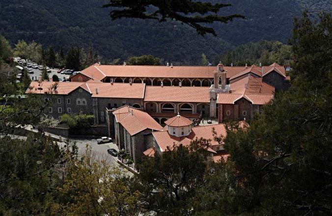 Кипр, монастырь Киккос