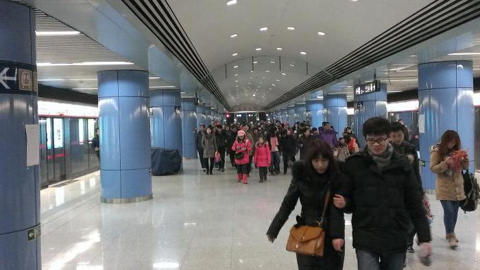 пекинский метрополитен фото