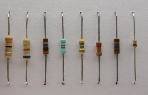 определение маркировки резисторов