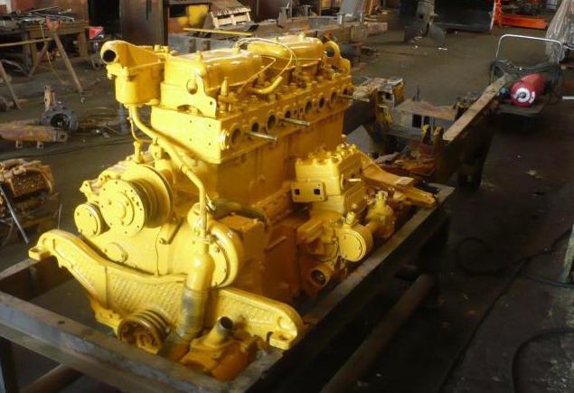 дизельный двигатель д 160