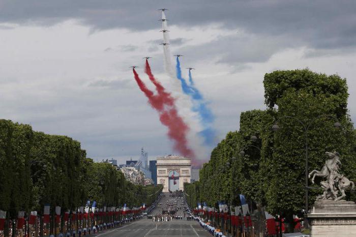 главный праздник Франции