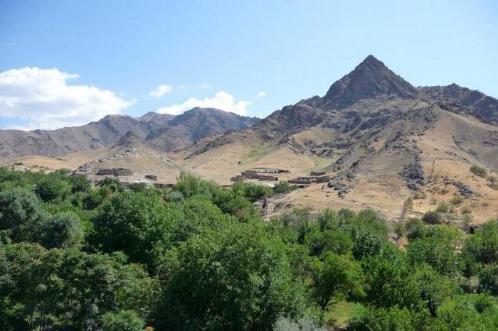 горы в Узбекистане название