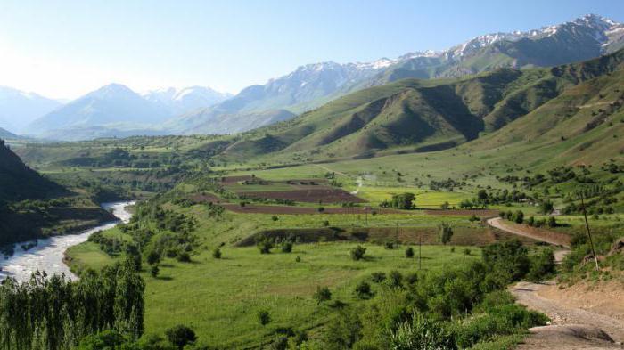 самая высокая гора в Узбекистане