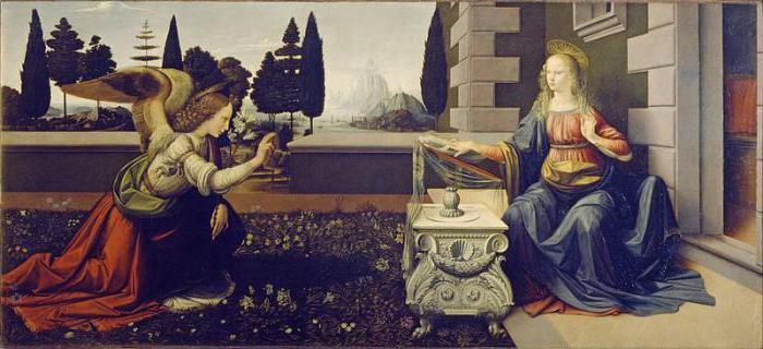 """The Annunciation"" - Leonardo da Vinci: two masterpieces of the master"